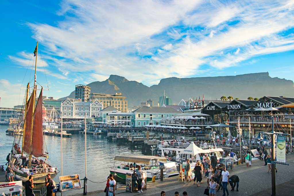 Image: V&A Waterfront in Cape Town