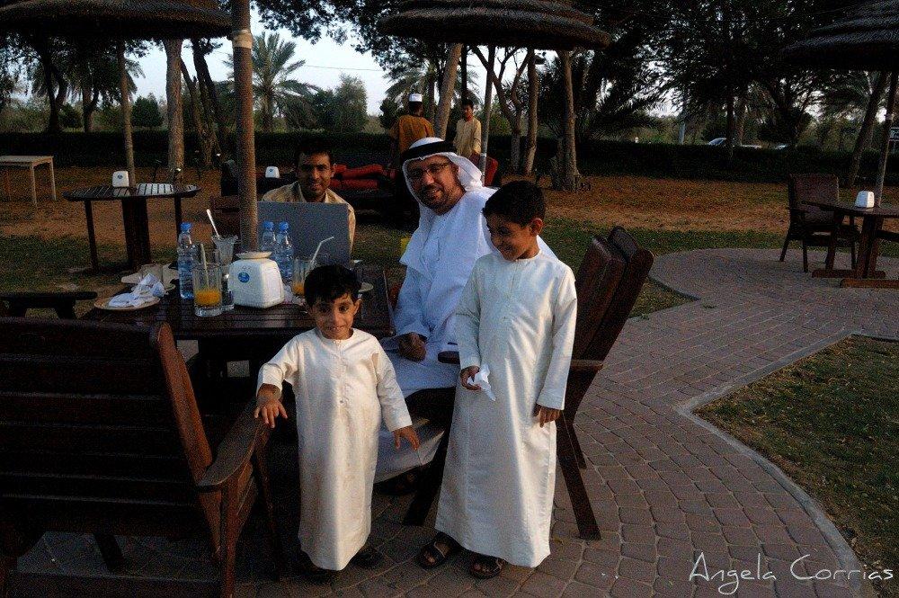 In Al Ain, city of Sheikh Zayed