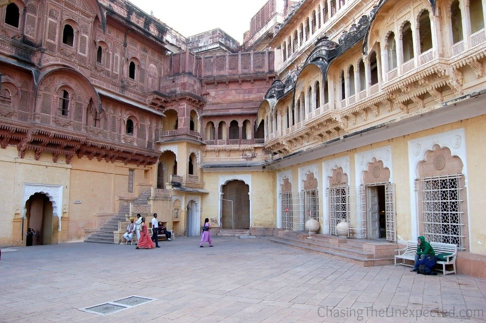 Mehrangarh Fort is one of the places to visit in Jodhpur, India