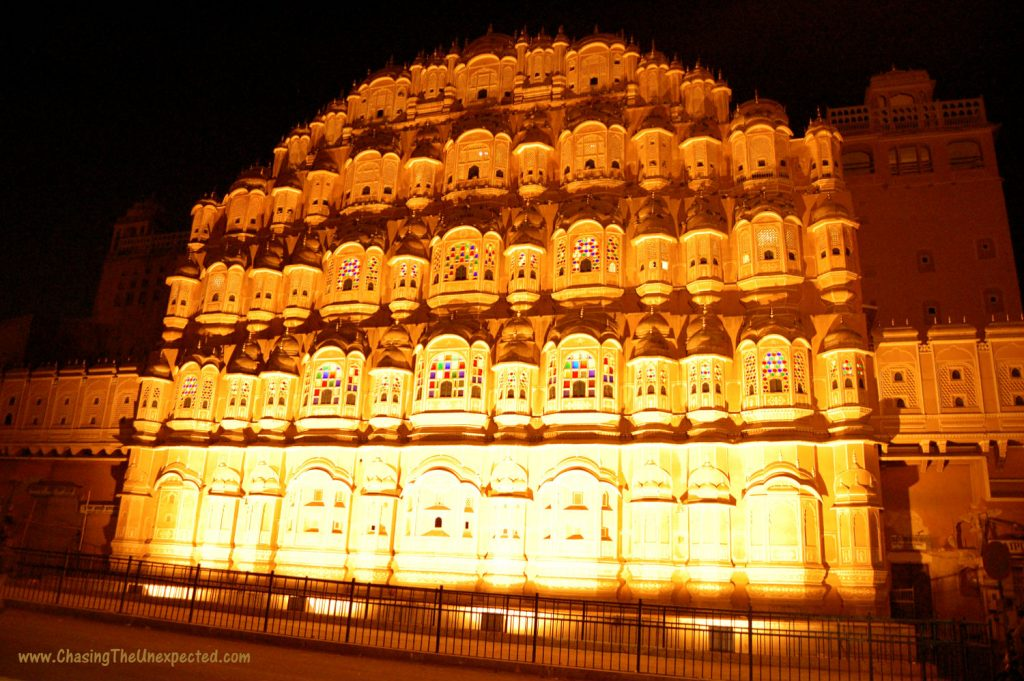 Image: Hawa Mahal in Jaipur