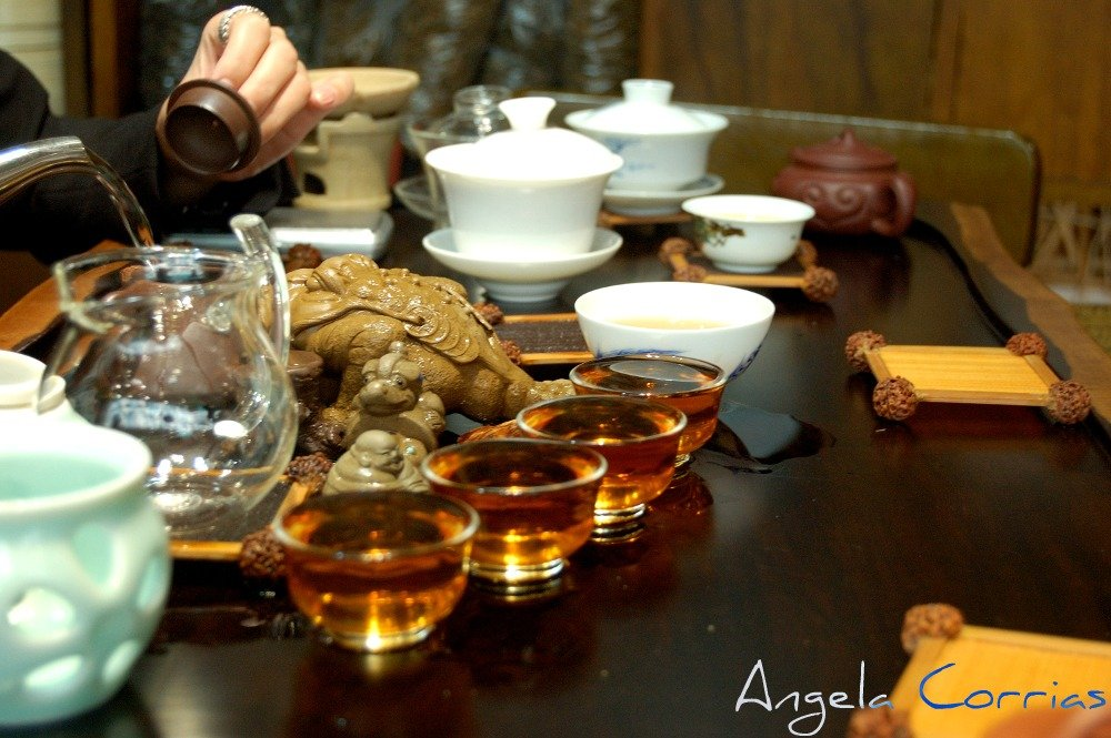 tea in Shanghai