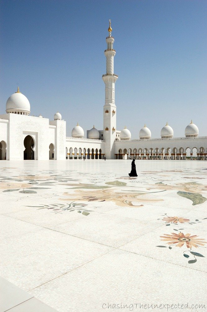 Sheikh Zayed mosque dress code