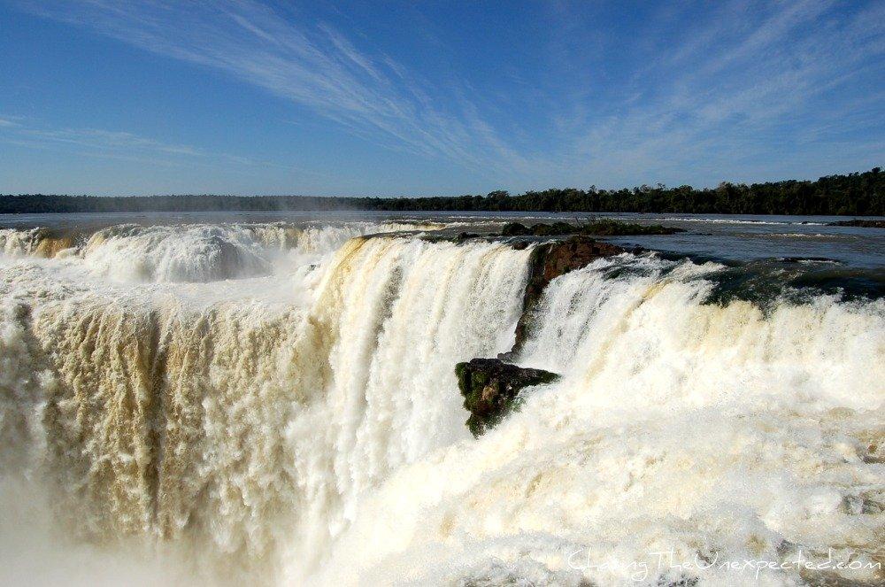 Iguazu falls, a natural wander