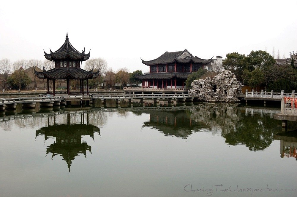 Chinese-style architecture in Zhouzhuang