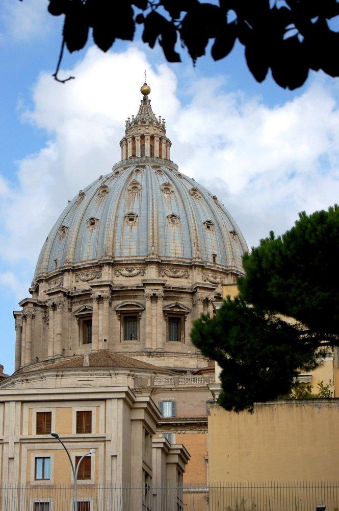 A trip, a photo – Saint Peter's Basilica, the Cupola, Rome