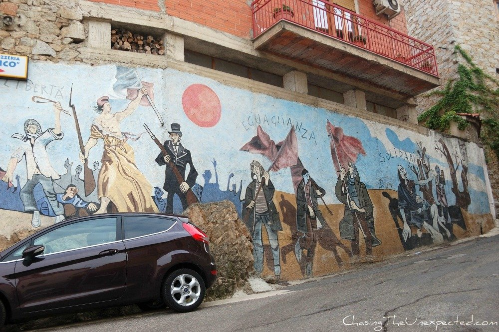 Revolution on Orgosolo murals