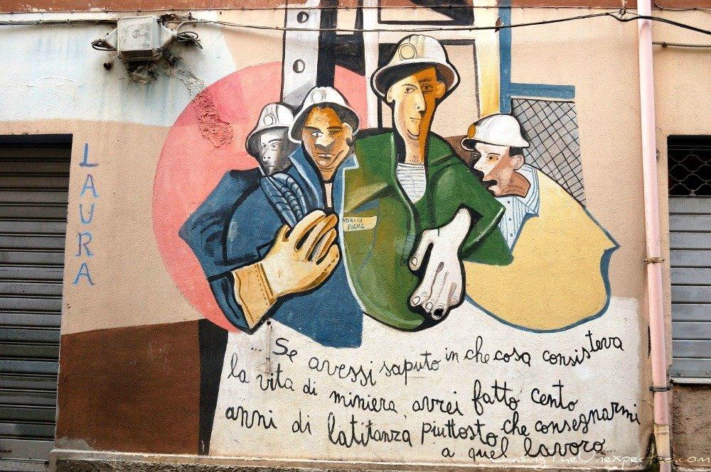 Social Orgosolo murals