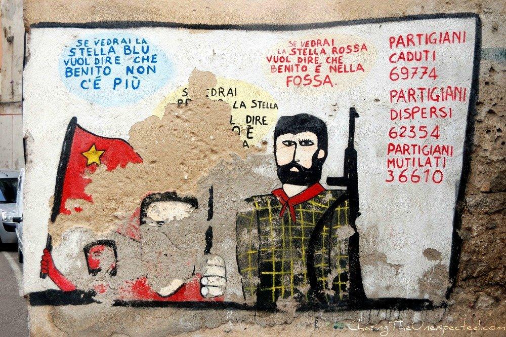 Historical Orgosolo murals