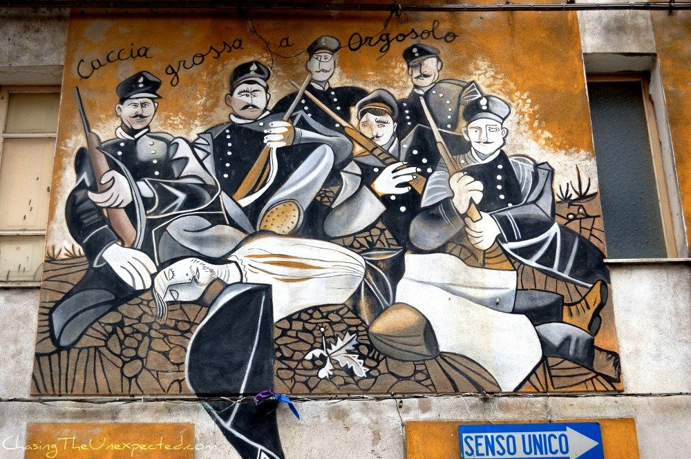 Sardinia's controversial side in Orgosolo murals