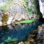 Su Gologone water spring, wonder in Sardinia Supramonte
