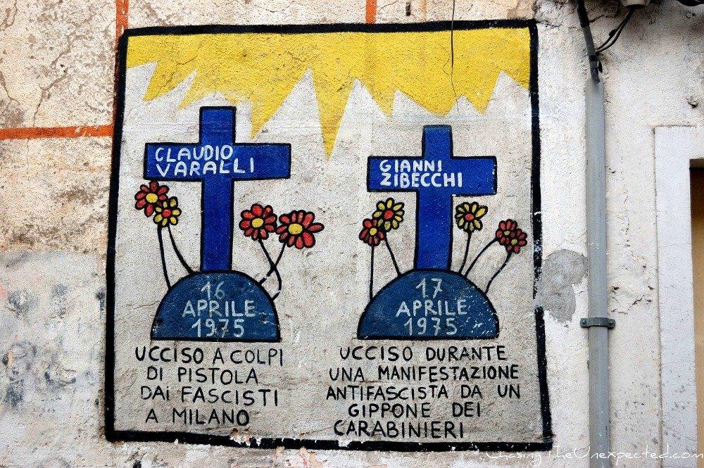 Outspoken Orgosolo murals