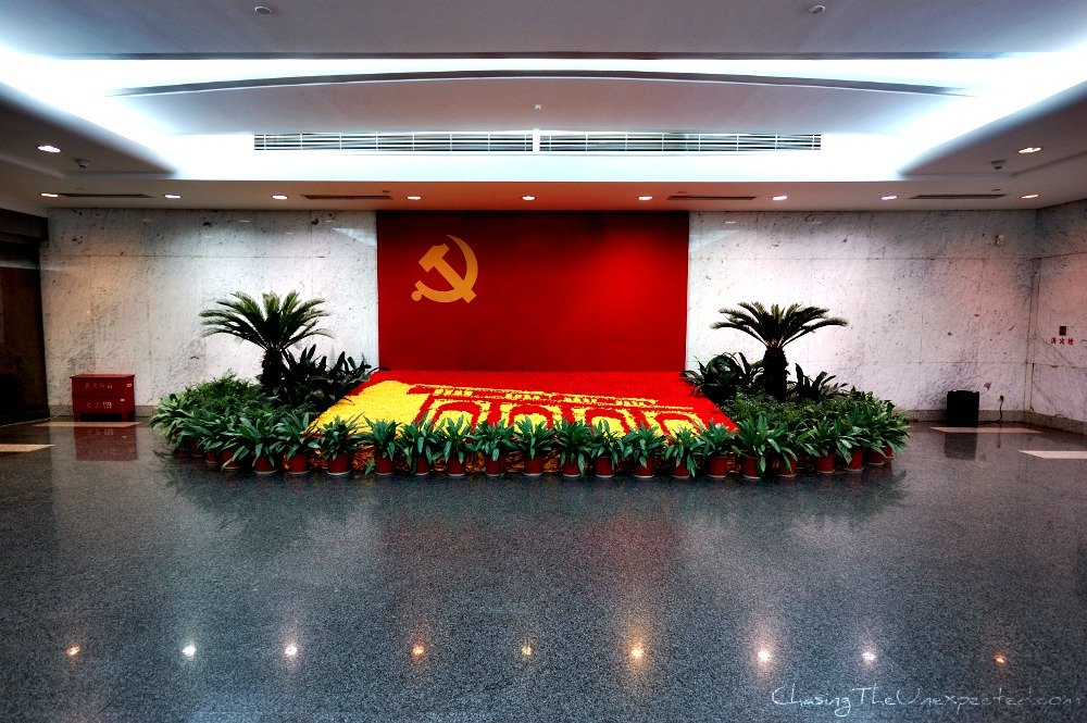 Shanghai's display of Communism