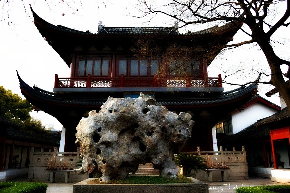 Shanghai Confucian Temple, worshiping nature