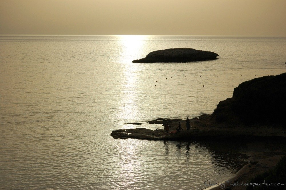 A trip, a photo - Silver light on the Mediterranean Sea