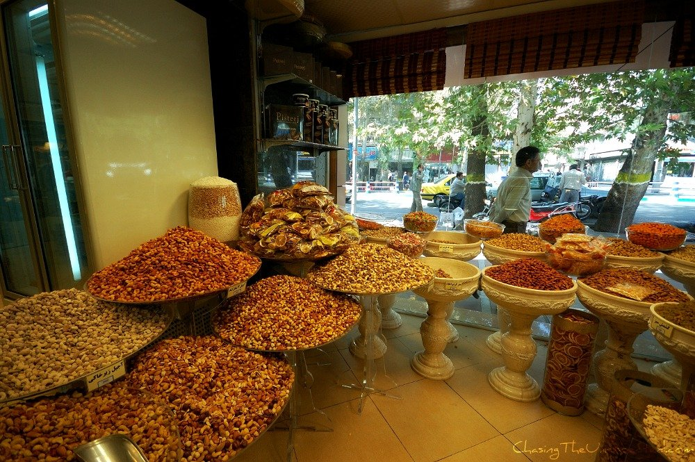 Tehran in pictures, a temptation of local markets and sweets shops