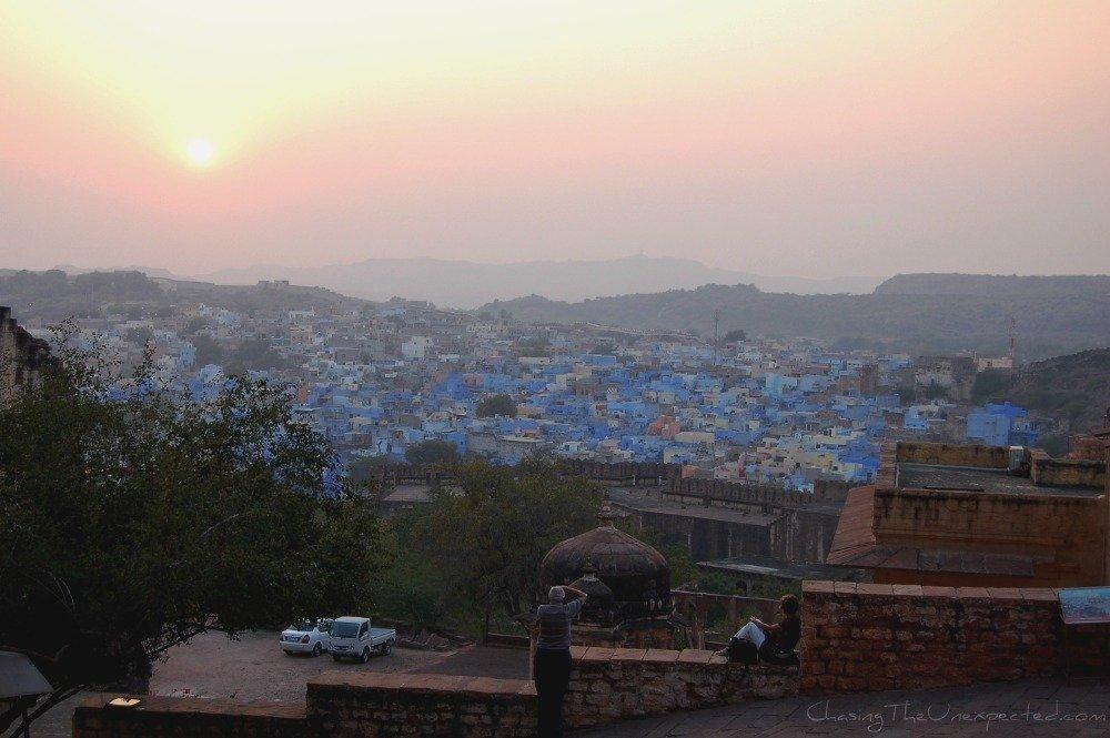 Overlooking Jodhpur the Blue City