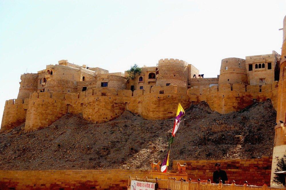 Image: Jaisalmer Fort in Rajasthan, India