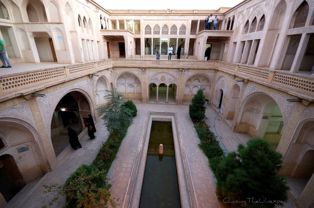 A glimpse on Iran's private space: the Abbasian House in Kashan
