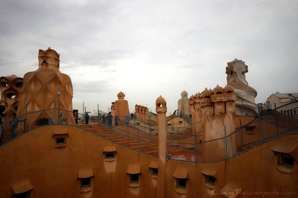 Exploring Barcelona with Gaudi
