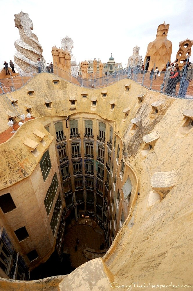 Exploring Barcelona with Gaudi