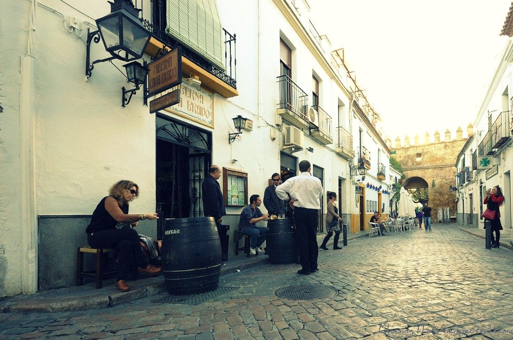 A trip, a photo – Hanging out in Cordoba, Spain