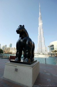 Sightseeing in Dubai and finding Botero