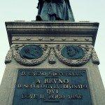 A trip, a photo – Heresy in Campo de' Fiori, Rome