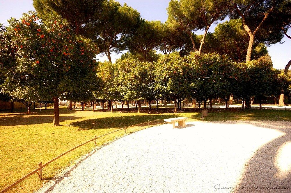 Surrendering to pleasure in Rome