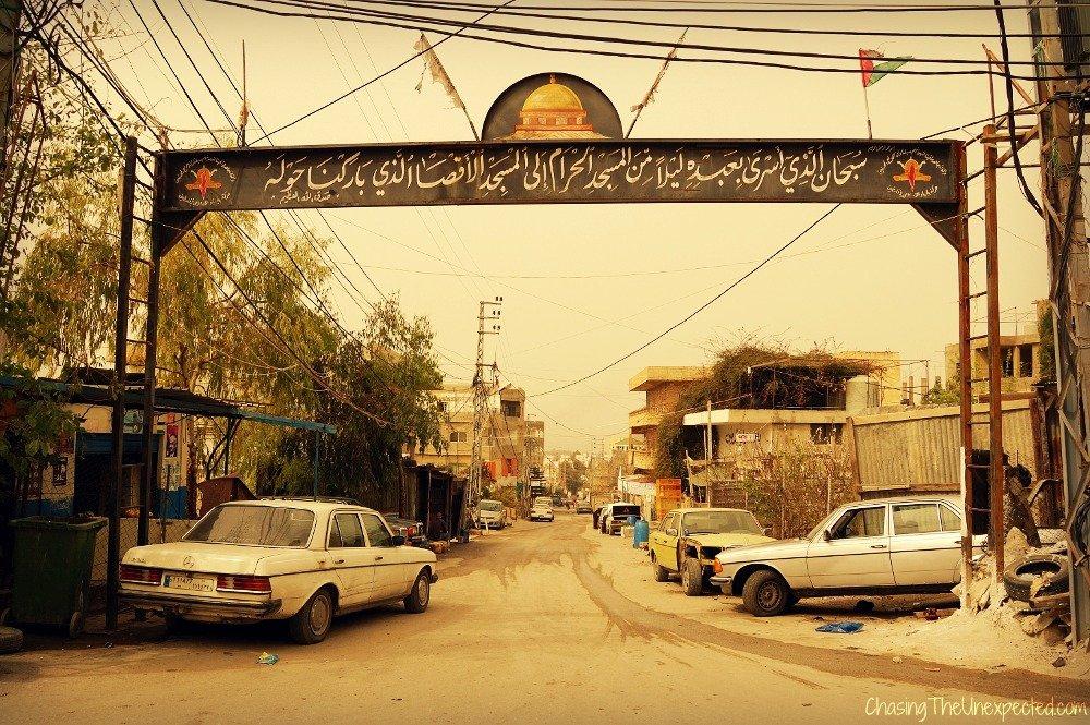 Travel beyond tourism, visiting Palestinian refugee camp Bourj El Shamali in Lebanon