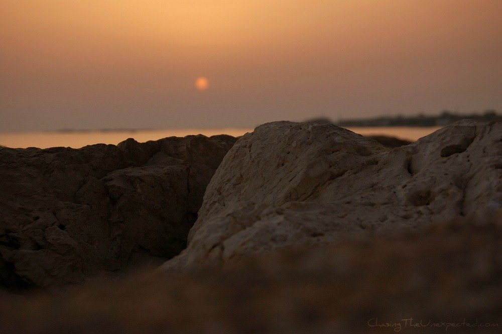 A trip, a photo - The amazing colors of Tyre's sunset, Lebanon