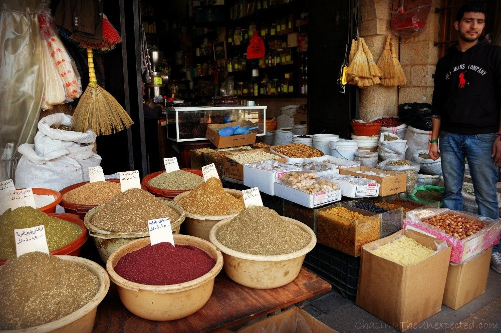 Photo Essay: Local markets in Lebanon, sheesha, spices and mixed feelings