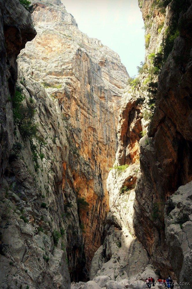 su gorropu canyon sardinia