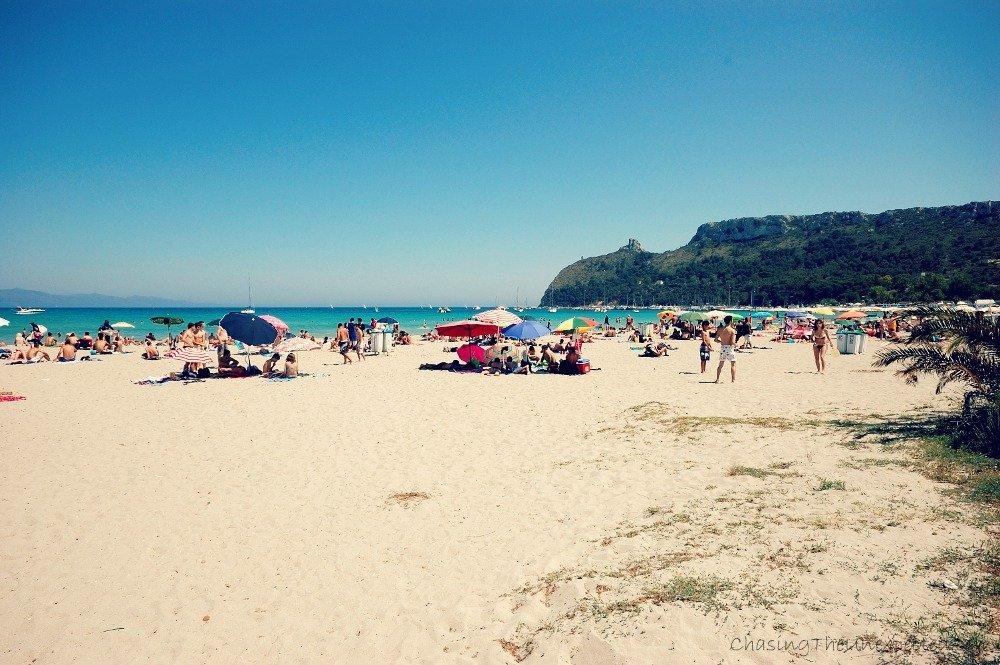 Cagliari Poetto beach