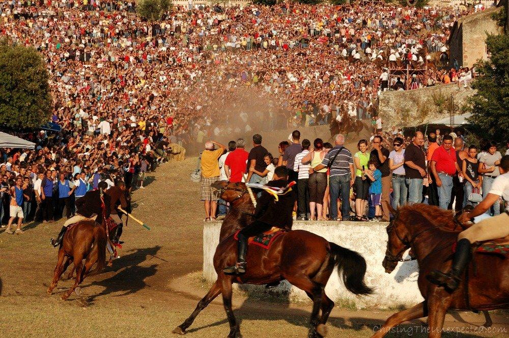 S'Ardia, running a wild horse race for faith in Sedilo town