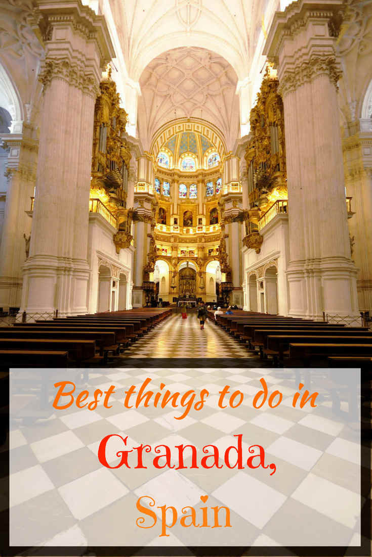 Best things to do in Granada, Spain