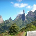 Parque Nacional dos Orgaos with God's Finger standing high
