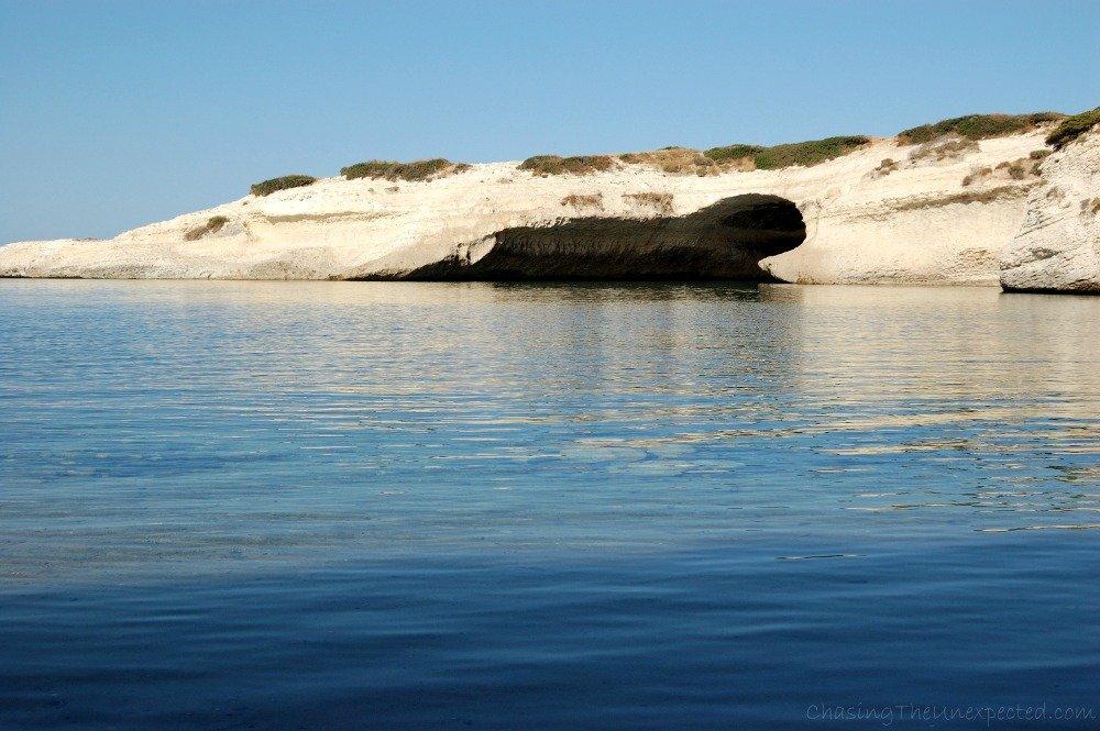 S'Archittu beach in Sardinia