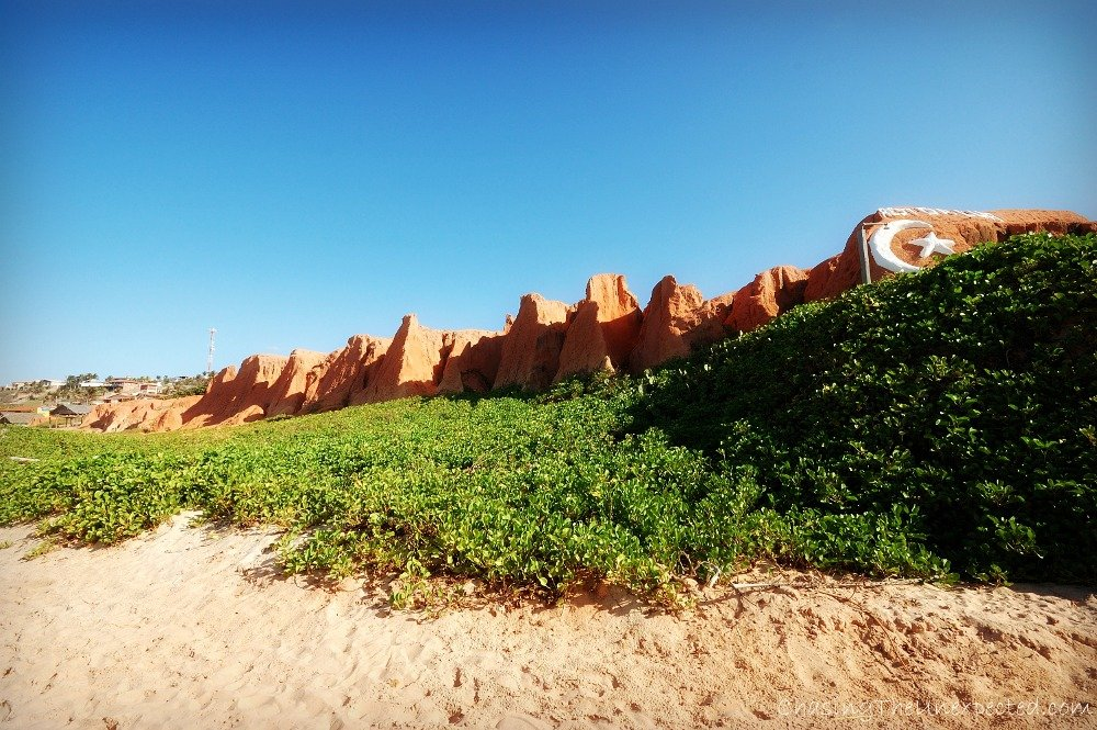 A trip, a photo – Beach of Canoa Quebrada, Ceará, Brazil