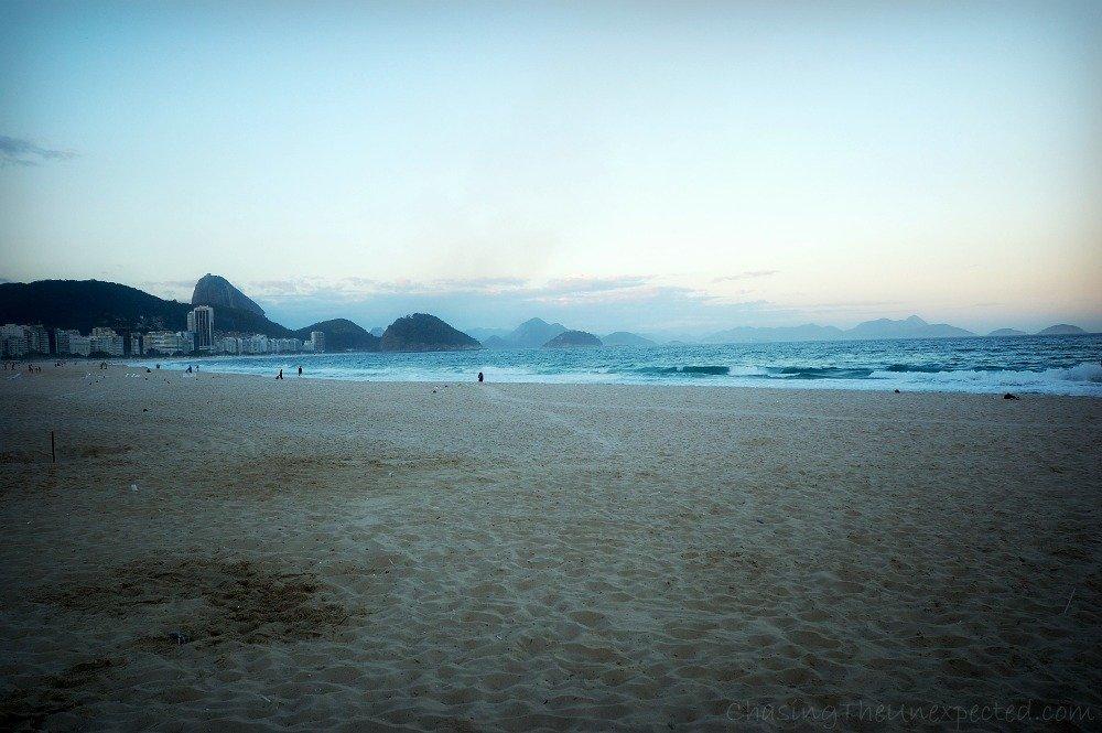 A trip, a photo – Copacabana Beach in Rio de Janeiro