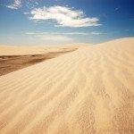 Jericoacoara, white dunes and sandy beaches of northeastern Brazil