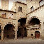 Viterbo, beautiful medieval, shady City of Popes