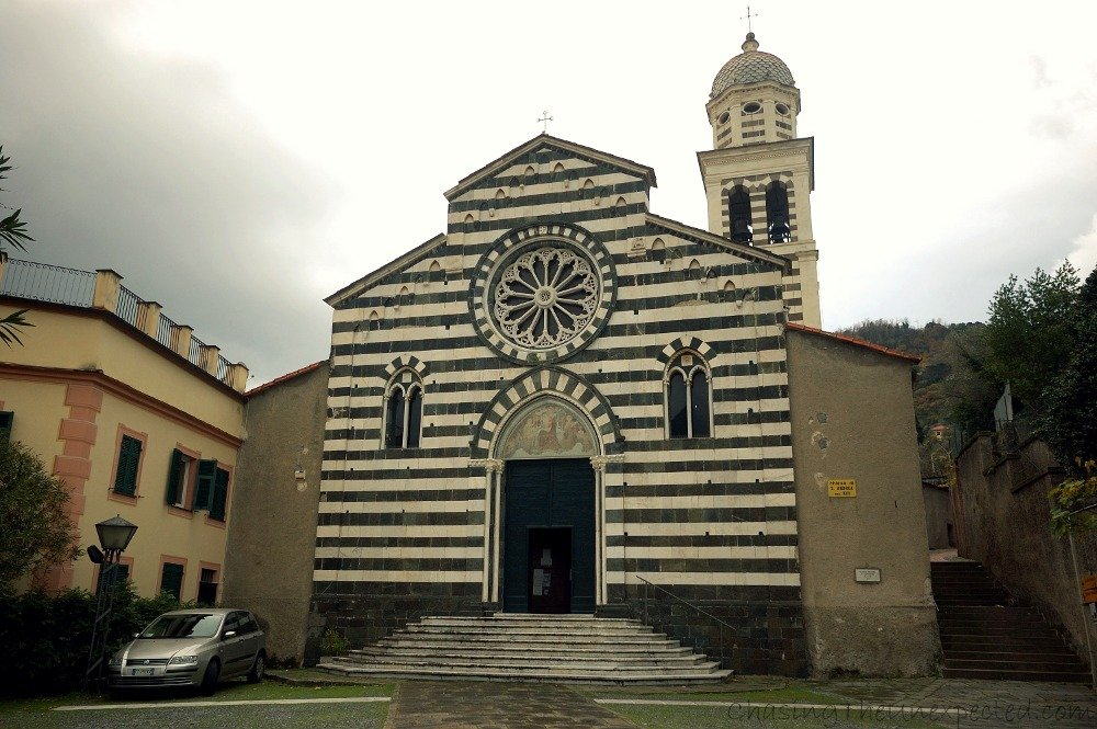 Sant'Andrea Church in Levanto