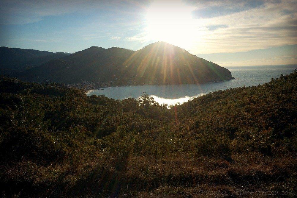 A view of Levanto's gulf from La Francesca