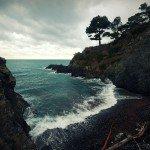 Scenic walk along Liguria's coastline, a photo journey