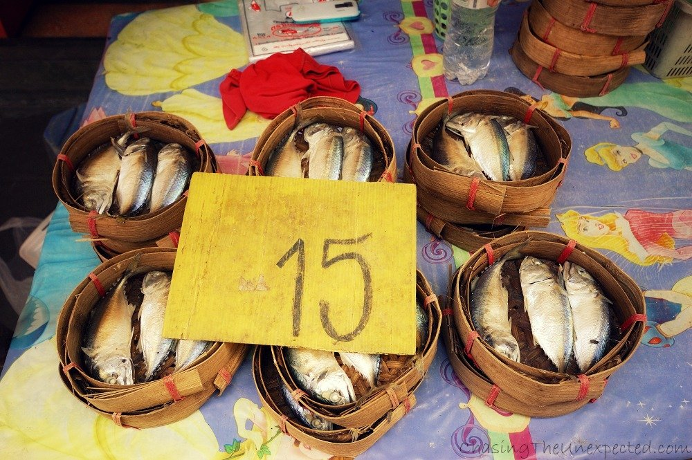 Fish, another element widely used in Thai gastronomy