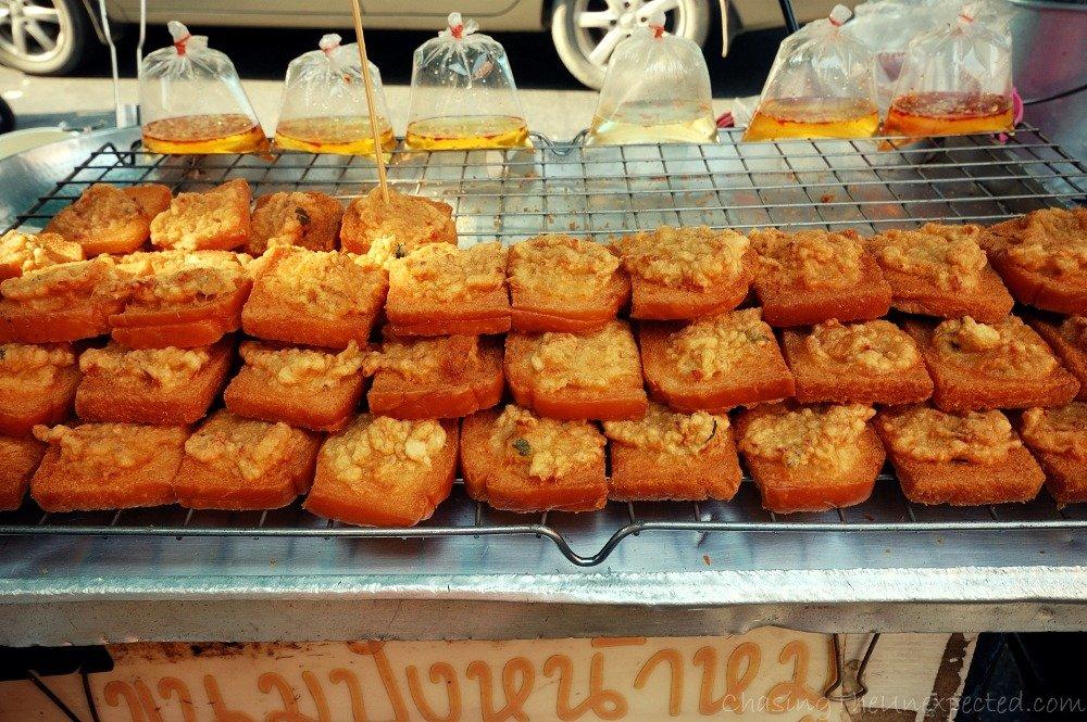 """Thai-style """"bruschette""""..."""