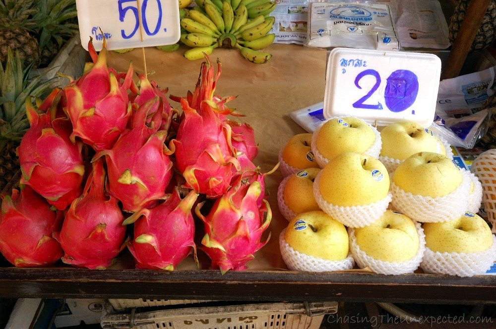 Giant fruit, one of the best things in Thailand!
