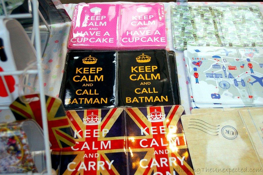 Above all, keep calm and call Batman