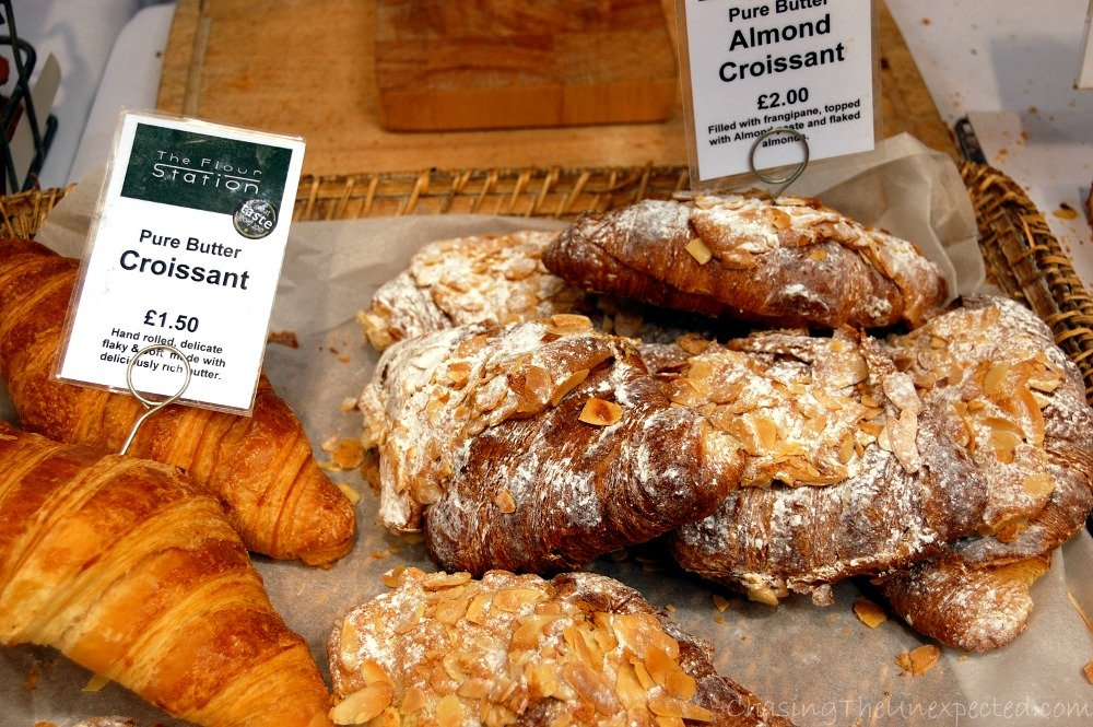 Croissants can never be missing, fortunately