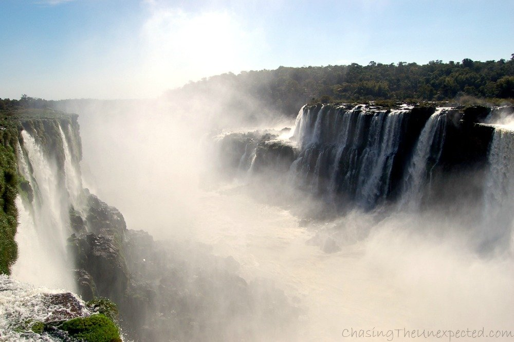 Iguazu Falls, a natural wonder